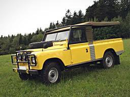 Production personnalisée – Land Rover Series III