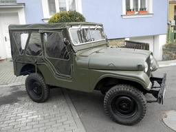 Production personnalisée – Willys CJ-5