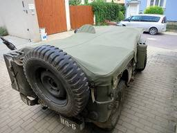 Custom production – Willys MB, windshield reclined