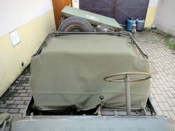 Jeep MA/MB/GPW – Canvas rear area cover MB