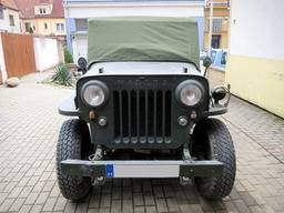 Jeep Willys CJ-3B – Funda para parking