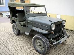 Jeep Willys CJ-3B – Techo/Capota de lona