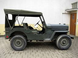 Jeep Willys CJ-3B – Plachta