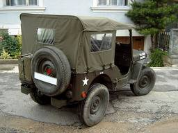 Jeep Willys M38 – bâche