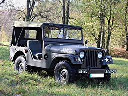 Jeep Willys M38A1 – bâche