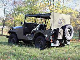 Jeep Willys M38A1 – Verdeck
