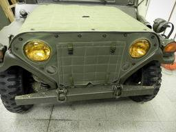 M151 Mutt – Grill cover