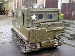 M29 Weasel – Canvas top