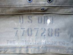 "Special offer – US original cargo space front/rear end curtain Dodge M37 ""Korea"""